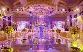 柒禧婚礼丨城堡中的王子和公主-城堡酒店