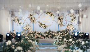 【良辰婚礼】  蓝白小清新婚礼  年轮