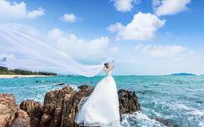 天涯海角客片--三亚贝拉印象婚纱摄影客片