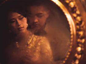夜上海旗袍婚纱照 民国风个性婚纱照 杭州魔方摄影