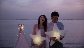 【人气套餐!】海边文艺风格婚纱
