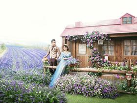 【天长地久】普罗旺斯庄园清新婚纱照优惠套系 8999