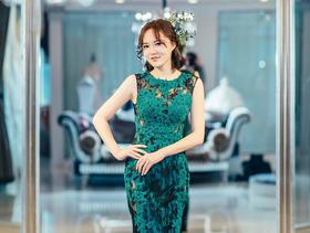 《洛维思婚纱高级定制》明星同款礼服