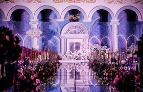 奢华宫殿元素主题定制婚礼