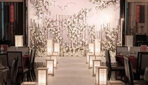 GS  【白玉霓裳】新中式香槟白系列婚礼