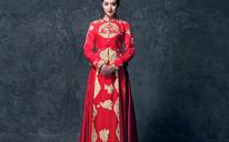 百合印象中式嫁衣秀禾服