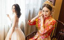 嘟嘟资深档3套造型+3套衣服全程跟妆韩式唯美妆容