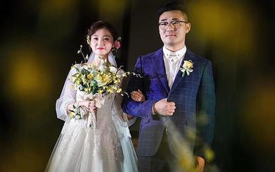 时钰工坊婚纱——【格蕾丝公主】仪式纱案例分享
