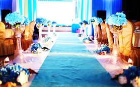 夏日小清新海洋系主题婚礼