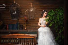 跟妆客片︱韩式小清新婚礼造型