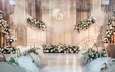 【香槟色】瑾尚婚礼 人员+布置+设备全包