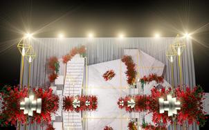 『八零婚礼』6折抢购 创意大理石元素主题婚礼