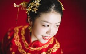 中式婚礼最重要的那一抹红