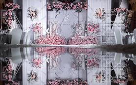 粉色少女心 大量花艺设计 小型2018博彩娱乐网址大全之选