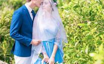 <宠爱之名>专属韩式海滩婚纱系列