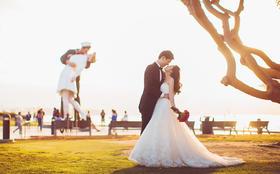 【客片】LaMoon婚纱天津新娘在洛杉矶的大片