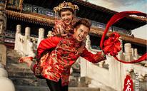 中式皇宫太庙婚纱照