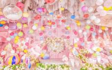 《七彩告白气球系列婚礼   》