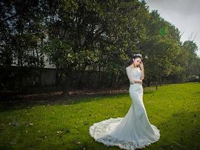 爱蔓延欧式婚纱定制