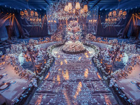 致·维也纳--Dream Park婚礼企划 婚礼鲜花布置