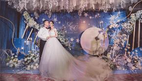 高雅蓝紫色调婚礼-唯美大气-【芊芊婚礼】