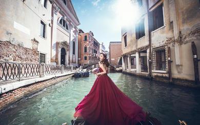 英国VM婚纱摄影欧洲旅拍-威尼斯