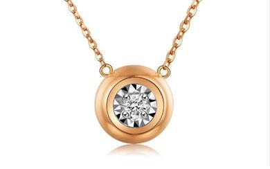 WISH RING 反正喜欢你18K金钻石项链