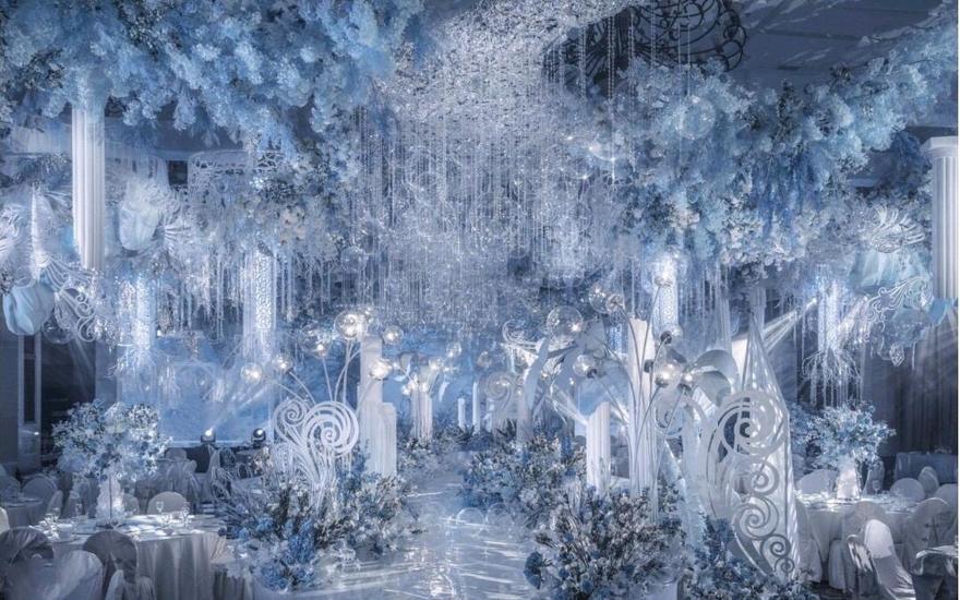 【梦幻季】合肥白金汉爵酒店《蓝色的森林》主题婚礼