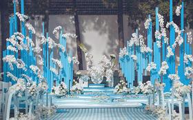 <骑士•婚县>蓝色海洋婚礼