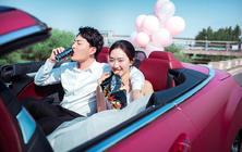 【乐玛摄影】网红婚照任选明星婚纱,5服5造