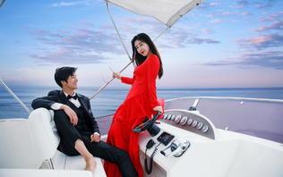 【双城旅拍】私人豪华游艇+爱丽丝秘境 无条件重拍