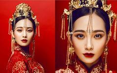中式新娘妆发之做个古装美人
