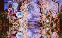 【花小姐】紫色梦幻·浪漫·送婚纱礼服全套·新颖