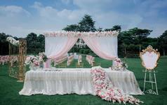 【梓塘婚礼】王子公主的后花园