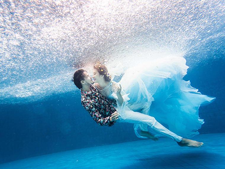 水下婚纱(写真 闺蜜)特价1388
