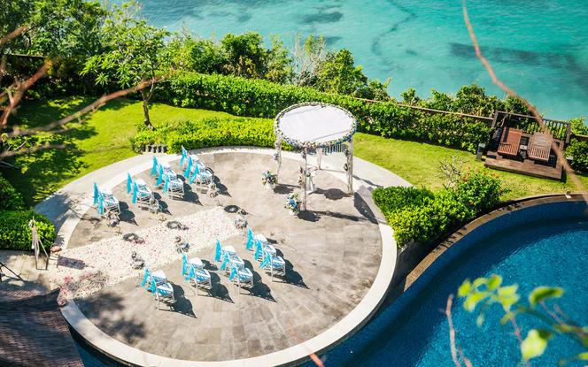 【罗曼斯海外婚礼】巴厘岛圆爱圆台婚礼蜜月一价全包