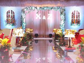 让蔷薇花告诉我们属于别样的浪漫+小清新主题婚礼