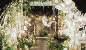 森之精灵|唯美梦幻森系主题|梦公园婚礼作品