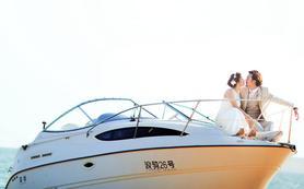 当高富帅爱上白富美 顶级奢华婚照悠然而生