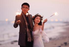 郑州韩国名匠婚纱摄影夜景