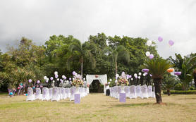 草坪户外浪漫婚礼25000元