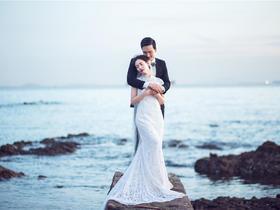 【厦门旅拍婚纱照】海风很大|你很美
