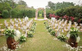 【珮珣婚礼】|  花园里的奇幻旅程