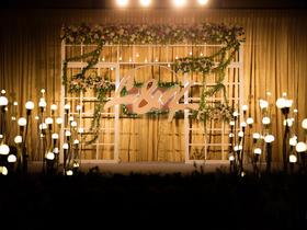 辉煌国际假日【最重要的决定】清新婚礼布置