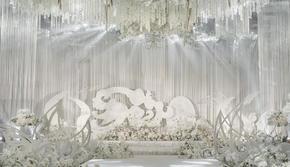 【送婚车装饰】凯宾斯基 大气韩式主题婚礼