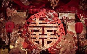 R&G婚礼企划中式案例欣赏【红妆】
