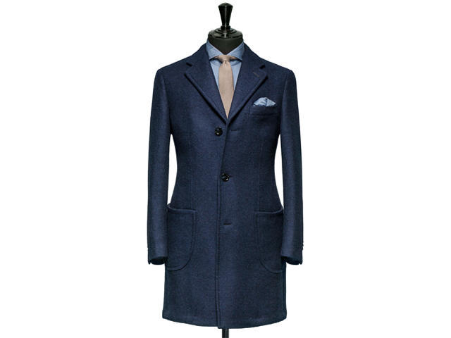 【男士礼服】8680元英国进口纯羊绒面料量身定制男士大衣
