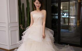 【芭瑞Bridal婚纱】红色主纱如万般盛开的花朵