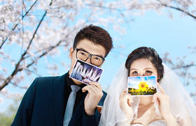 春季全新清新唯美婚纱照系列