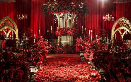 ROMANTIC 红色《欧式宫廷风》